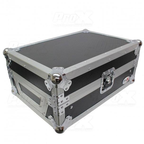 "ProX 11"" DJ Mixer Road Case W/Laptop Shelf for Rane Seventy-Two 72"