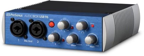 PreSonus AudioBox 96 Ultimate Bundle USB 2.0 Hardware/Software Recording Kit