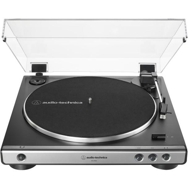 Audio-Technica AT-LP60X-GM Stereo Turntable (Gunmetal & Black)