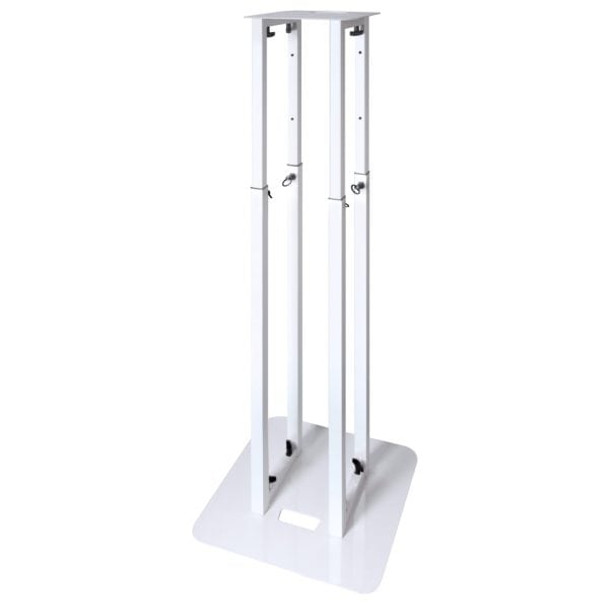 NovoPro PS1 XL Adjustable Podium Stand 58³ (White)