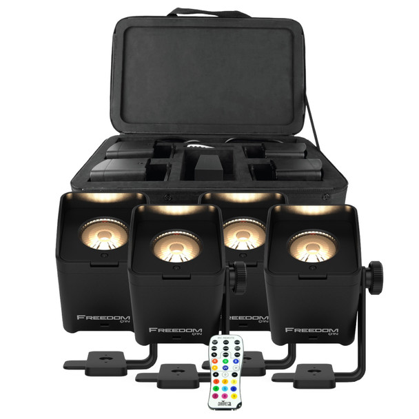 Chauvet DJ Freedom Q1N Pin Spot Light System RGB+WW (BLK)