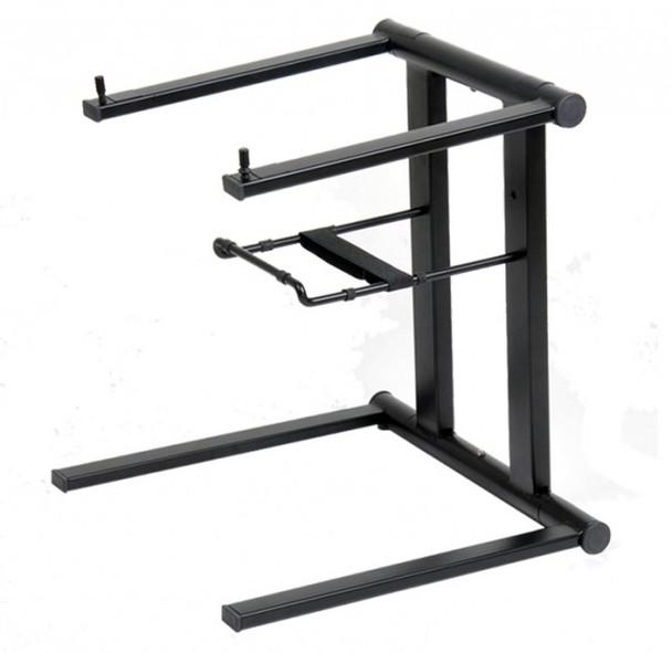 ProX Foldable Portable Laptop Stand W/Adjustable Shelf BLACK