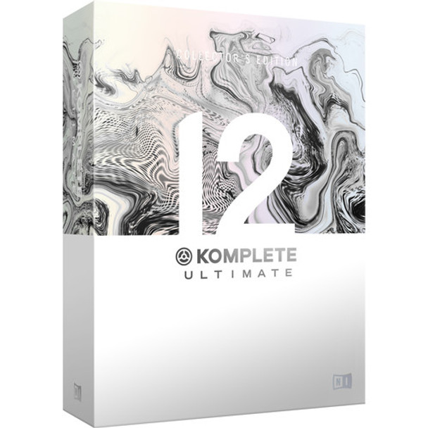 Native Instruments KOMPLETE 12 ULTIMATE Collector's Edition - Virtual Instruments and Effects Collection (Upgrade from KOMPLETE 8 - 12)