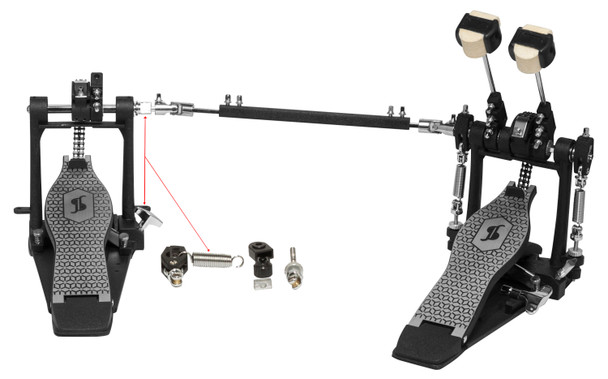 Stagg Double bass drum pedal, 52 series