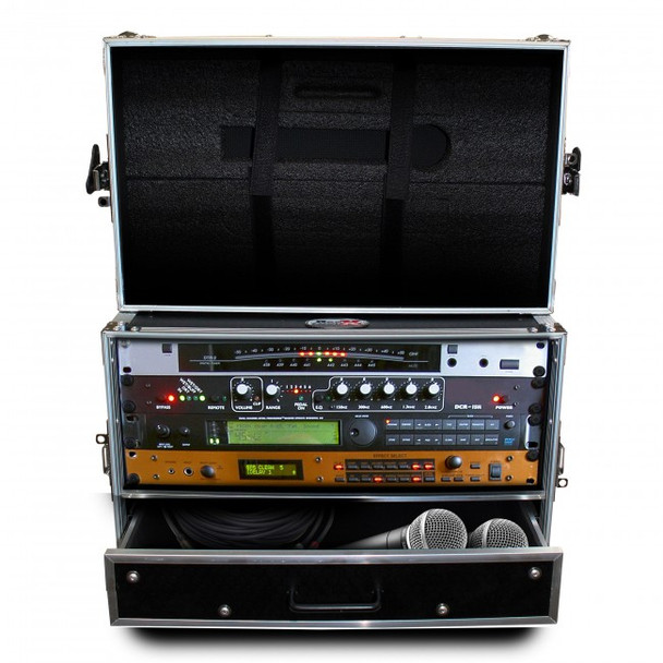ProX Flight Case ATA Style Rack Case 14 In. Deep 4U W-2U Drawer