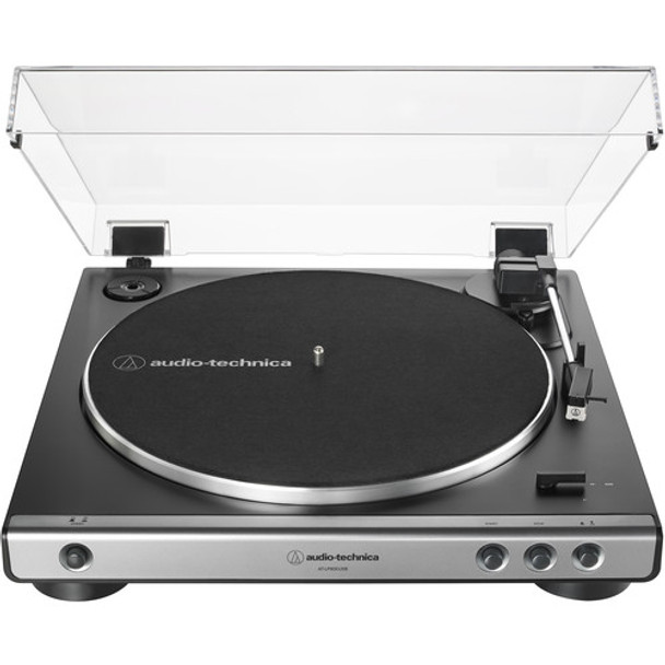 Audio-Technica Consumer AT-LP60XUSB Stereo Turntable (Gunmetal))