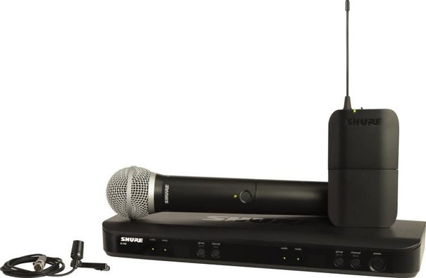 Shure BLX1288/CVL Dual Channel Wireless Combo System - J11 Band