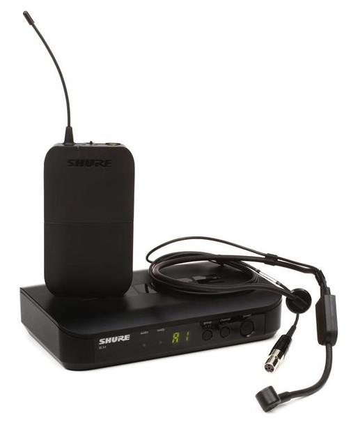 Shure BLX14/PGA31 Wireless Headworn Microphone System - H10 Band - Freq. 542-572 MHz