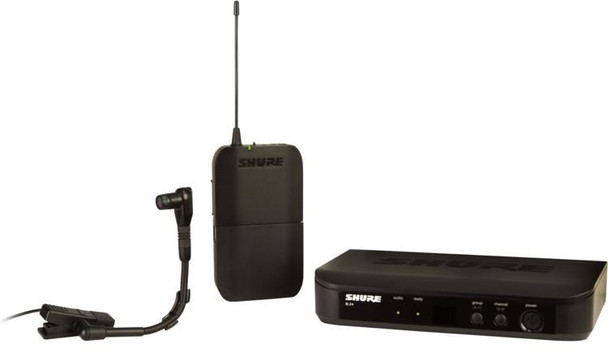 Shure BLX14/B98 Wireless Instrument Microphone System - J11 Band - Freq. 596 - 616 MHz