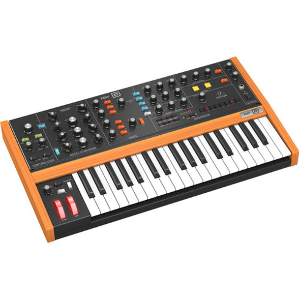 Behringer POLY D 4-Voice Polyphonic Analog Synthesizer with Ladder-Style Filter