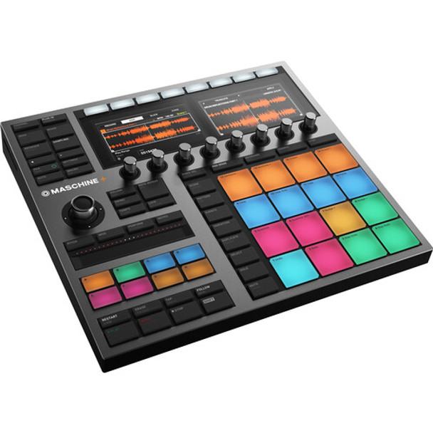 Native Instruments MASCHINE+ Standalone Production and Performance Instrument