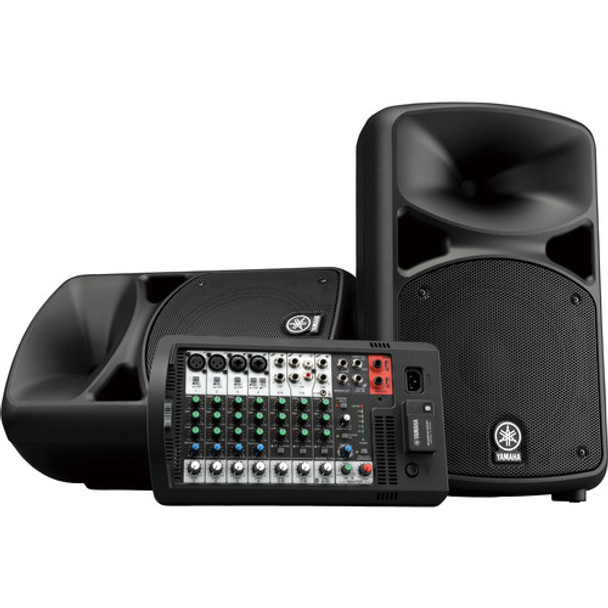 Yamaha STAGEPAS 600BT Portable 10-Channel PA System with Bluetooth