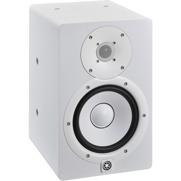 Yamaha HS7I 2-Way Bi-Amp Powered Studio Monitor (White)