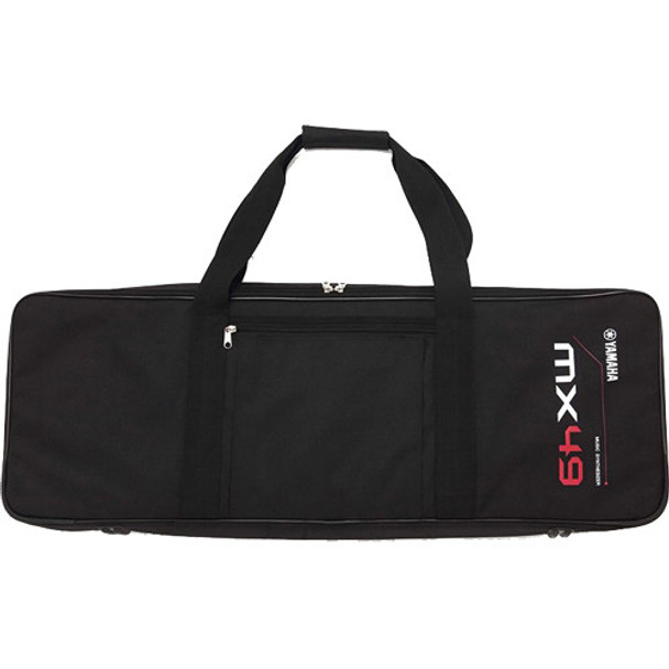 Yamaha MX49 Gig Bag with Shoulder Strap (Black)