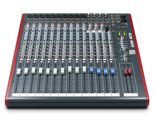 Allen & Heath ZED-18 18-Channel Mixer with USBFront View