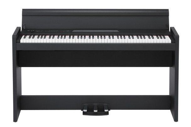 Korg LP380BK 88 Key Lifestyle Piano - Black