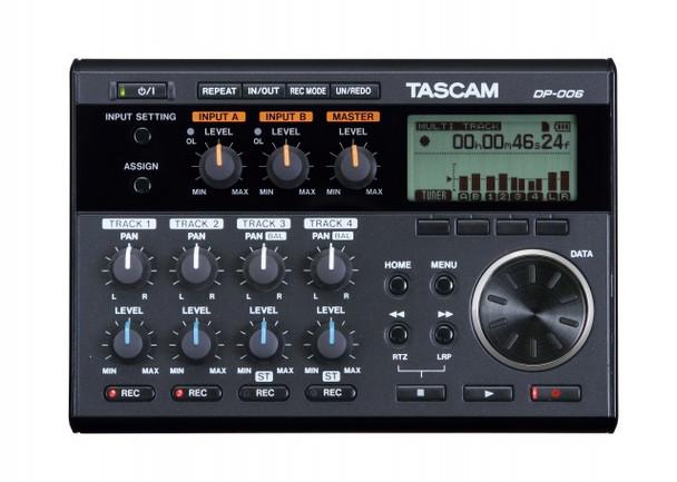 Tascam DP-006 Digital 6-Track Recorder