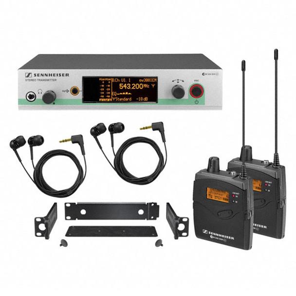 Sennheiser EW300-2IEMG3-A In-ear Monitoring System