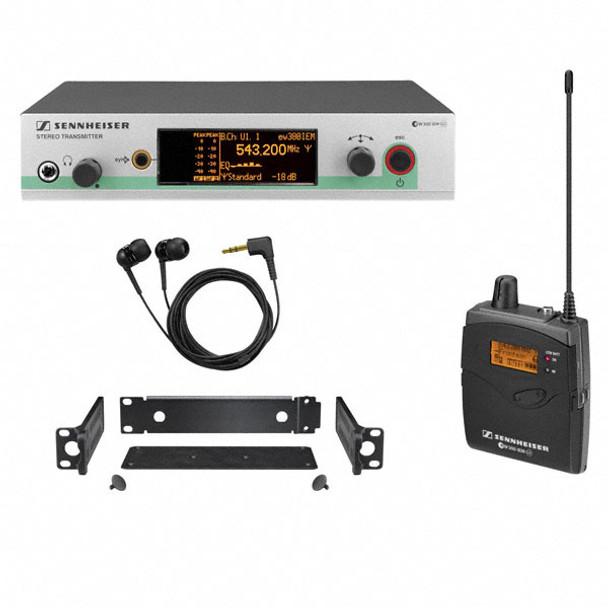 Sennheiser EW300IEMG3-B Wireless In-Ear Monitor System