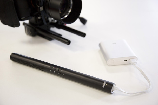 Rode NGT4+ Shotgun Microphone with Rechargeable Battery