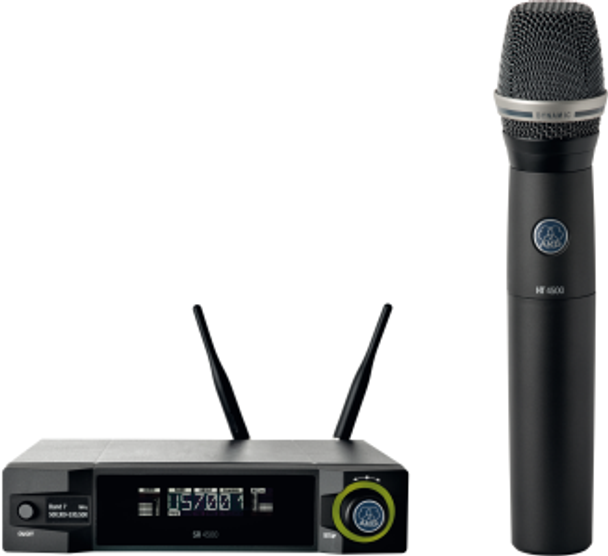 AKG WMS4500 D7 Set Wireless Handheld System (570-600 MHz)