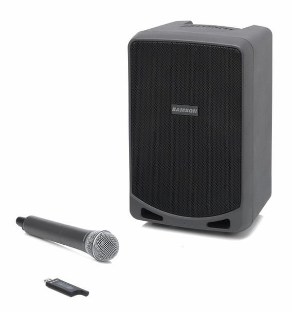 Samson Expedition XP106w Portable PA Speaker with Handheld Wireless & Bluetooth