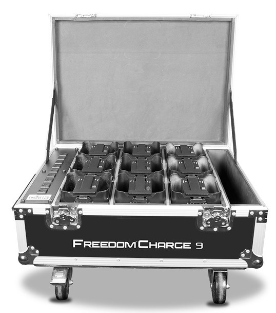 Chauvet DJ FREEDOMCHARGE9 DJ Freedom Charge 9 Road Case Stage Light Accessory