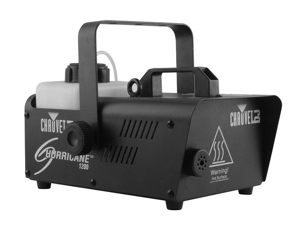 CHAUVET DJ H1200 Fog/Smoke Machine w/ Wired Remote + Fog Fluid