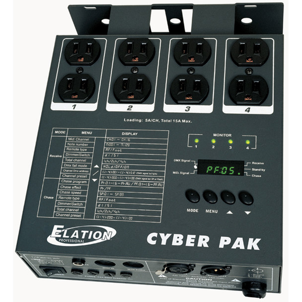 Elation CYBER PACK Cyber Pack, Dimmer Switches
