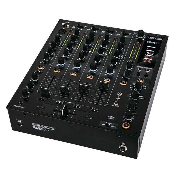 Reloop RMX-60 Digital 4+1 Channel DJ Mixer with Built-in Effects