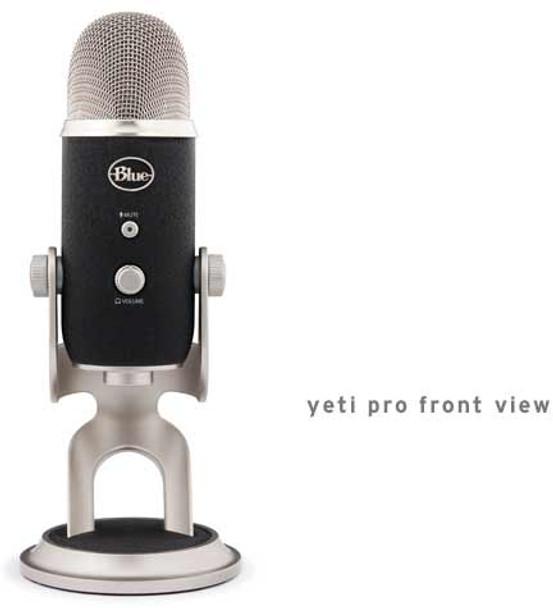Blue Microphones Yeti Pro USB Condenser Multipattern Microphone