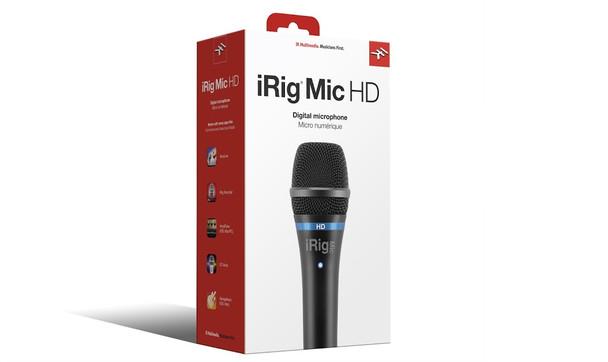 IK Multimedia iRig Mic HD High-Definition Handheld Microphone for iPhone, iPad and Mac