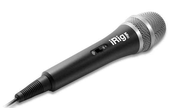IK Multimedia iRig Voice Karaoke Microphone for Smartphones & Tablets