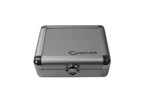 Krom Case in Silver Diamond for 2 Turntable Cartridges