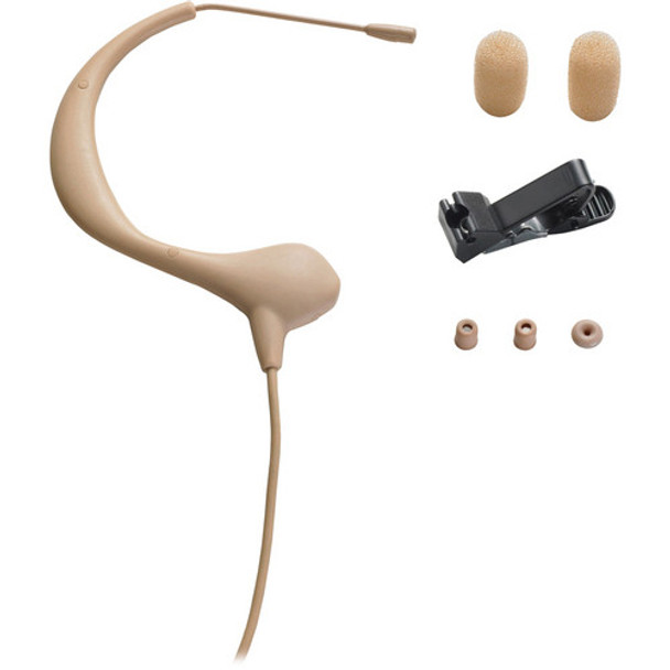 BP893-TH Microset Omnidirectional Condenser Headworn Microphone - Beige