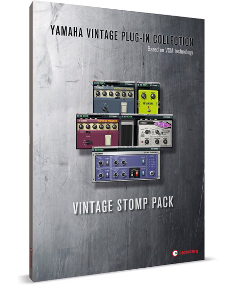 Steinberg 502015073 Vintage Stomp Pack VCM Guitar Effects Plugin Bundle (VST)