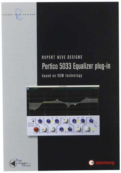 Steinberg 502015050 RND Portico 5033 EQ Audio Plug-in