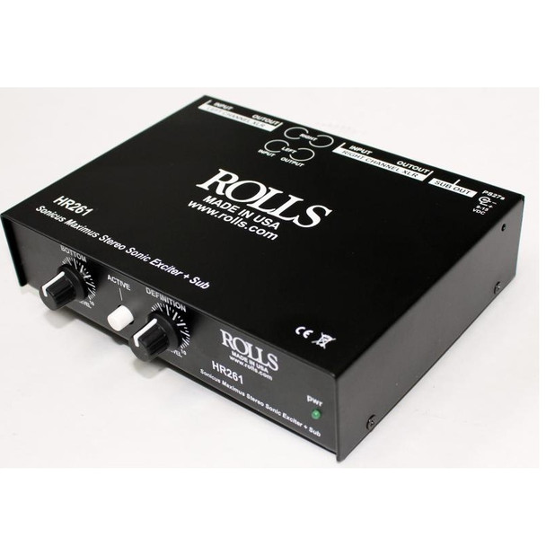 HR261 Stereo Sonic Maximizer