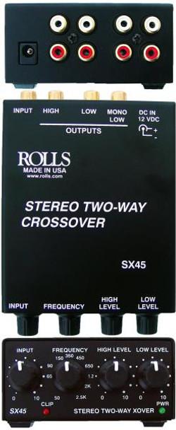 SX45 Tiny Stereo 2 Way Crossover