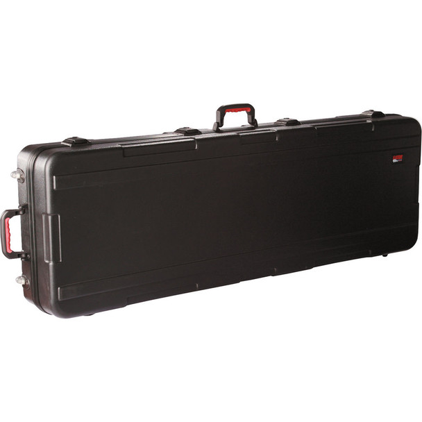 GKPE-88D-TSA 88-Note Deep Case with Wheels and TSA Latches - Black