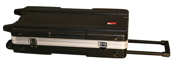 G-MIX-12x24 Rolling ATA Mixer Case w/Lockable Recessed Latches & Pull-out Handle
