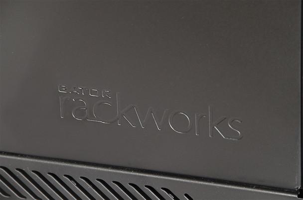 GRW1009508 Rackworks Fixed Wall Mounted Rack - Black