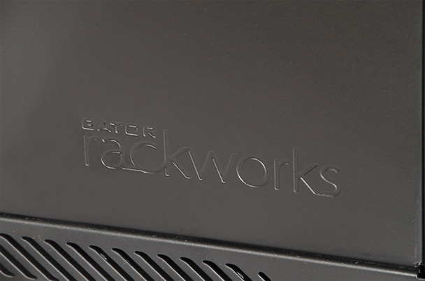 GRW2018508 Rackworks Hinged Wall Mounted Rack - Black