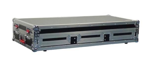 Gator Cases G-TOUR COF-LGCD12 ARM1-PL Large Coffin Case w/DJARM; 12-inch Mixer Section - Black