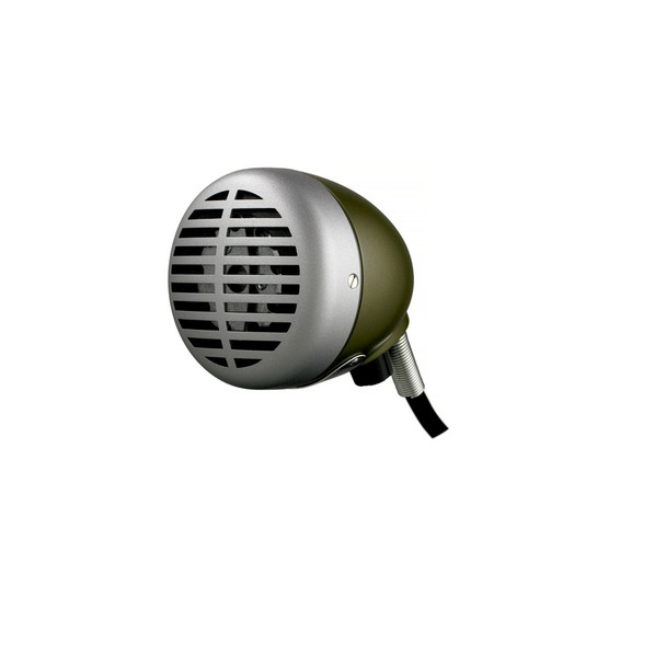 Shure 520DX -inchGreen Bullet-inch Harmonica Microphone