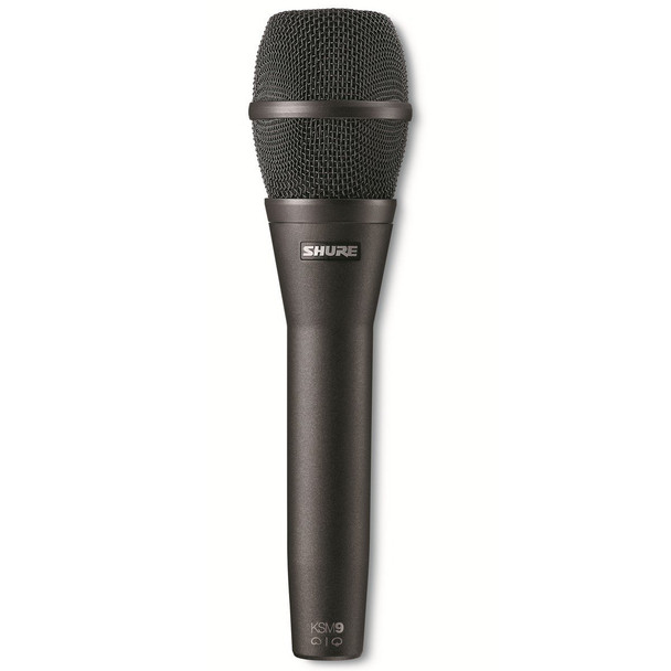 Shure KSM9/CG Cardioid & Supercardioid Handheld Condenser Microphone - Charcoal Gray