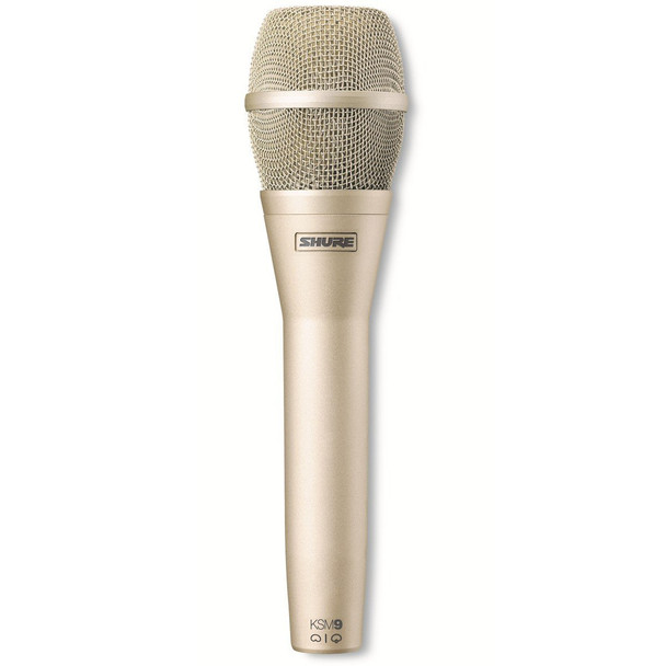 Shure KSM9/SL Cardioid & Supercardioid Handheld Condenser Microphone - Champagne