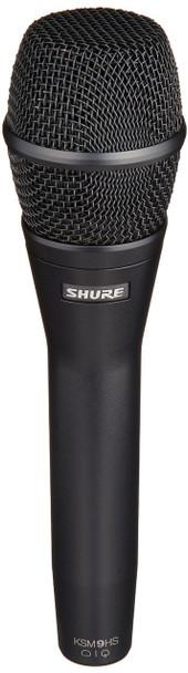 Shure KSM9HS Multi-Pattern Dual Diaphragm Handheld Vocal Microphone - Black