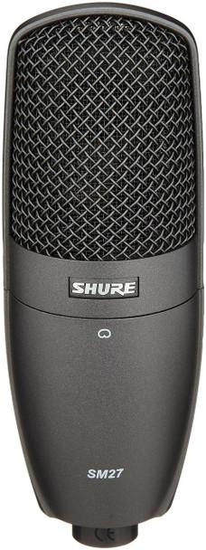 Shure SM27-SC Cardiod Side-Address Condenser Microphone