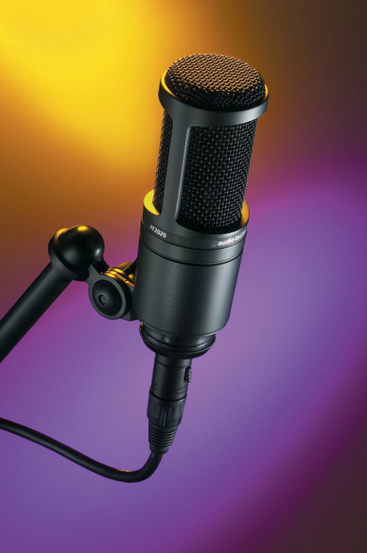Audio Technica Cardioid Condenser Microphone AT2020